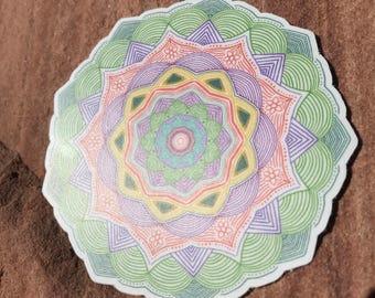 Mandala Sticker #3