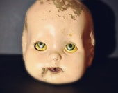 Creepy Horsman Baby Buttercup Doll Head