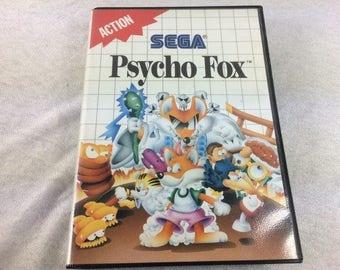 Psycho Fox Sega Master System - Master System Games