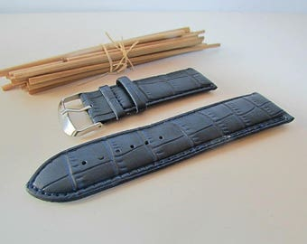 Wristwatch leather 12mm, 20mm, 26 mm