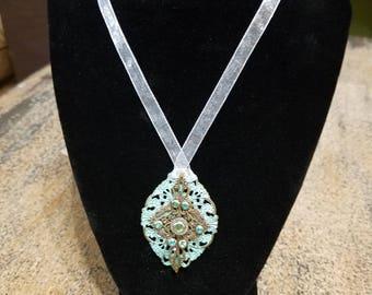 Patina Bullet Casing Necklace - Unique - Bullet Casing - Jewel