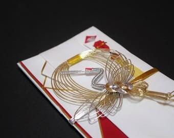 """27.Mizuhiki envelopes This envelope is used for each celebration. A special envelope called """"noshibukuro"""""""