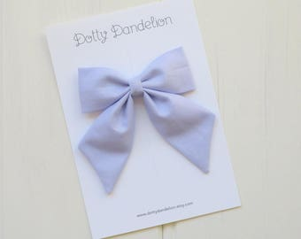 Sailor Bows | Lilac Sailor Bows, Girls Sailor Bows, Lilac Sailor Bow, Sailor Bow, Lilac Hair Bow, Lilac Hair Clip, Lilac Bows, Lilac Bow