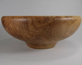 Ash wood fruit bowl, very large