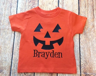 Kids Halloween Shirt, Pumpkin Shirt, Personalized Halloween, Halloween Shirt, Halloween, Boys Halloween, Girls Halloween, Pumpkin Patch