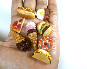 You pick Food charm food jewelry and foodie accessories