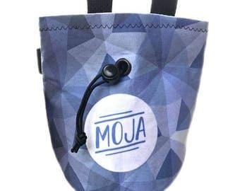 Moja Gear Classic Rock Climbing Chalk Bag: Blue Lavender