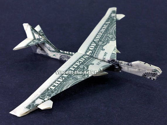 origami 747 plane