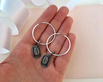 Cow Boy Hat Earrings - Cow Boy Earrings - Cowboy Earrings - Cowboy Hat - Earrings - Western Style Earrings - Hoop Earrings - Country Jewelry