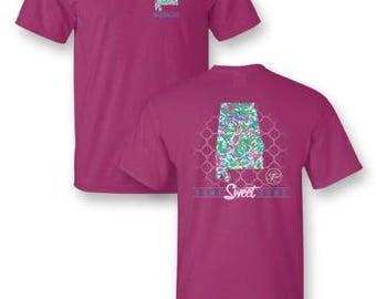 "Sassy Frass ""Alabama"" State Shirt"