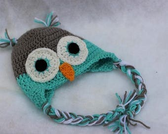 Cute Owl Hat for Kids