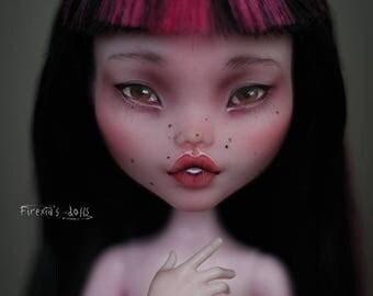 RESERVED! OOAK Draculaura doll