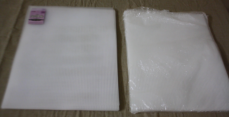 Lot 7 Mesh Plastic Canvas Sheets 10