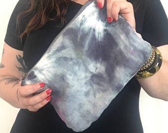 Shibori Tie Dye Makeup Bag