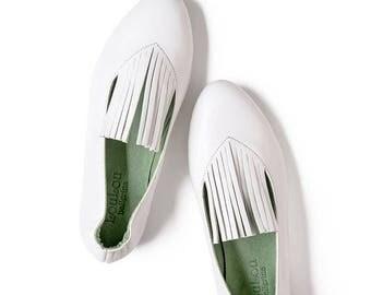 Bridesmaids shoes, Girls White flats, Girls leather flats, Girls White shoes, Girls ballet shoes, Girls ballet flats