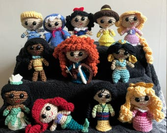 Disney Princesses Crochet