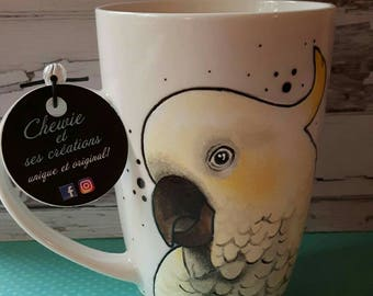 Cup cockatoo