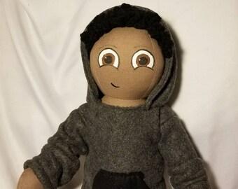 18 inch custom boy rag doll