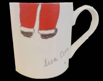 Novelty Sion Corn 'Santa' Mug
