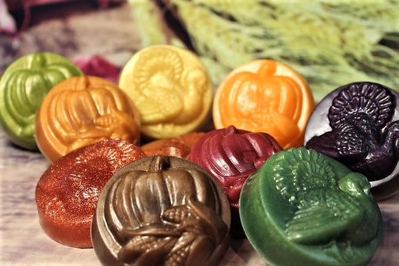 Thanksgiving Soap Favors