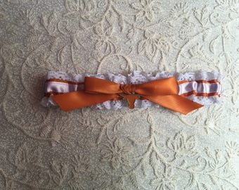 University of Texas wedding garter