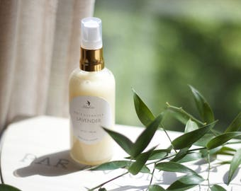 Lavender Facial Cleanser. Handmade with natural ingredients.