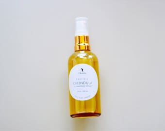 Calendula Baby oil with Chamomile extract, 100 ml.