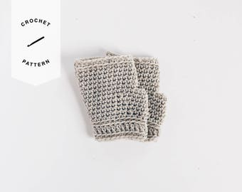 CROCHET PATTERN x Fingerless Gloves