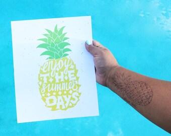 Pineapple Summer Days