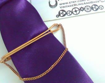 Vintage, 5.5cm, Long Vintage STRATTON, vintage tie clip, wedding tie clip, bridegroom, wedding, men, wedding jewelry, bridegroom, tie clip