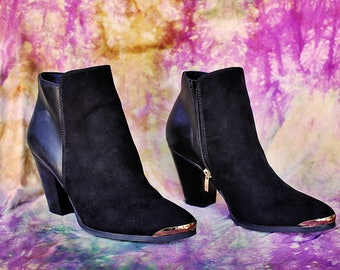 Just Fab Ankle Booties