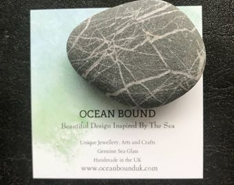Fridge Magnet. Wishing Stone. All Natural. Gift Box included.