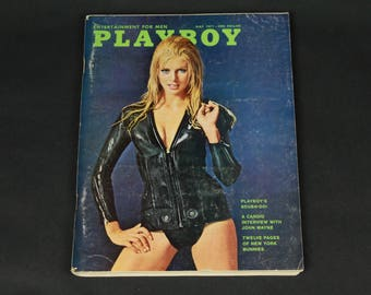 70's Playboy Magazine May 1971