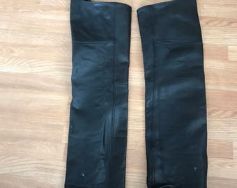 """Vintage Motorcycle Riding """"Chaps"""""""