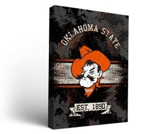 Oklahoma State University OSU Cowboys Canvas Designs