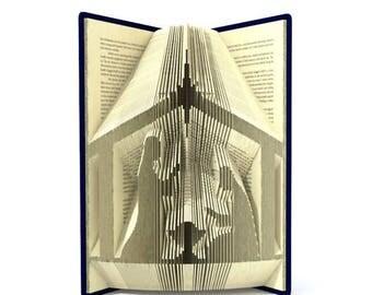 Nativity Folded Book - Christmas - Manger -Jesus - Mary - Joseph - Pastor - Church - Religious