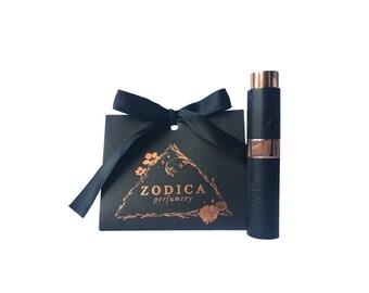 Capricorn 12/22-1/19 Zodiac Perfume Travel Spray Gift Set .27oz 8ml 150 Sprays | Refillable Natural Organic Vegan Fragrance