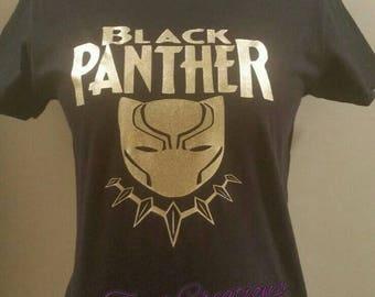 Black Panther Tee Black Superhero Black History African American Black Pride Unity Black History February African American Africa Wakanda