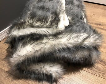 King size fuax fur blanket