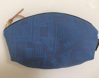 Euclid Canvas Petal Pouch Clutch