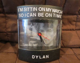 "Bob Dylan Dyl-Time Clock for ""Love & Theft"" album"