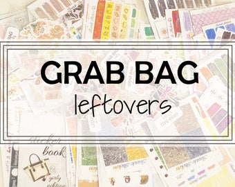 LEFTOVERS || 15+ sheets || kit left overs and functional sheets