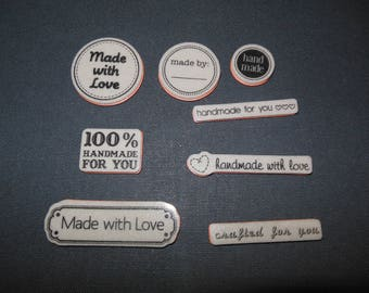 Made with Love Stamps