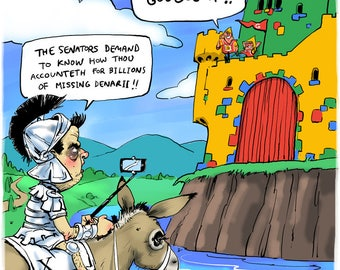 Google/Xenophon cartoon