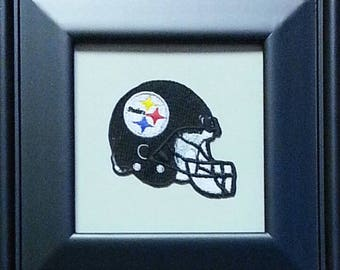 Pittsburgh Steelers Framed Vintage Embroidered Patch