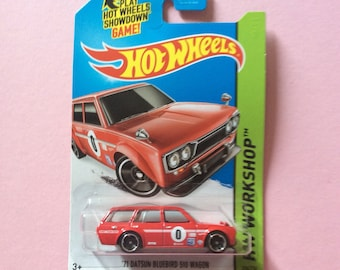 HW Workshop 71 Datsun Bluebird 510 Wagon