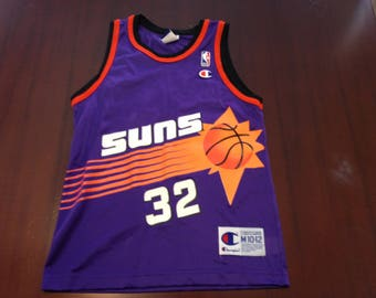 vintage 90s jason kidd SUNS nba basketball jersey champion Kids M 10-12