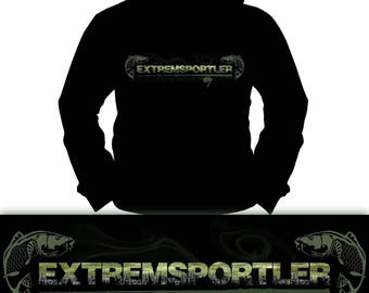 Extreme Athlete Carp | Carp | Catfish | Fishing Fishing | Hoodie | S-XXL