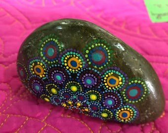 Half mandala rock