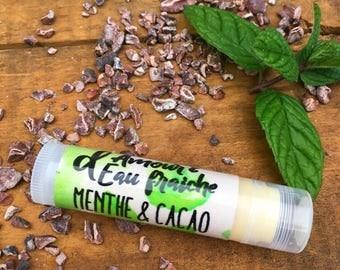 cocoa & Peppermint vegan lip balm